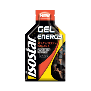 Isostar Energy Gel Caffeine Banana Strawberry 35g